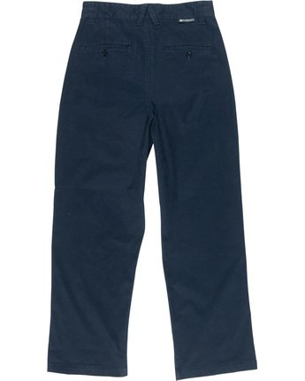 3 Olsen Trousers Blue J347VEOP Element