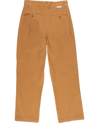 3 Olsen Women Trousers Brown J347VEOP Element