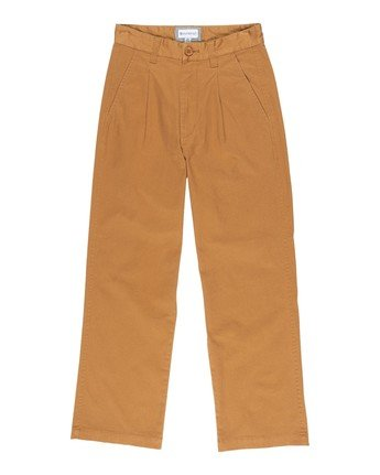 2 Olsen Women Trousers Brown J347VEOP Element