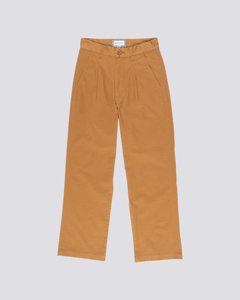 0 Olsen Women Trousers Brown J347VEOP Element