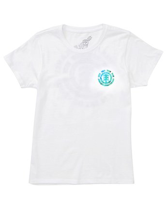 2 Power to the Planet Earth Day Tee White J402PEED Element