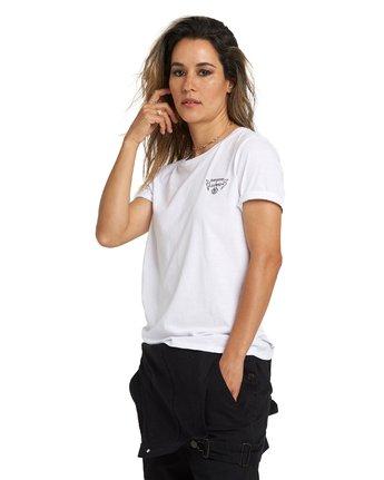 1 Bad Brains Brainstorm Boyfriend T-Shirt White J4031EBB Element