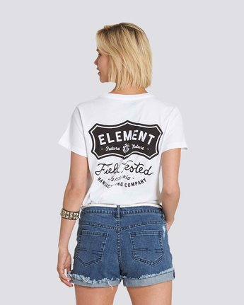 1 Test Tee White J447PETE Element