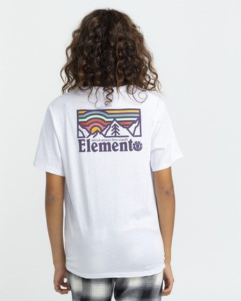 3 Landscape T-Shirt White J4523ELA Element