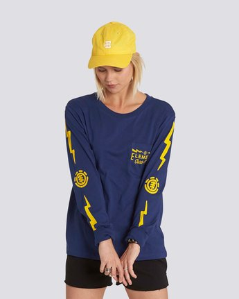 0 Zap Long Sleeve Crew  J463NEZA Element