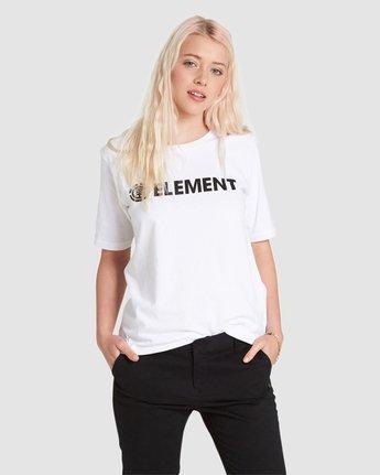 3 ELEMENT LOGO CR White J467QEEL Element