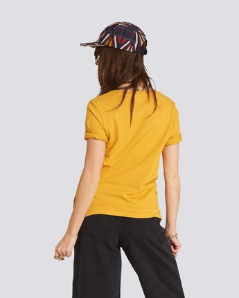 1 Let'S Roll Tee Yellow J467QELE Element
