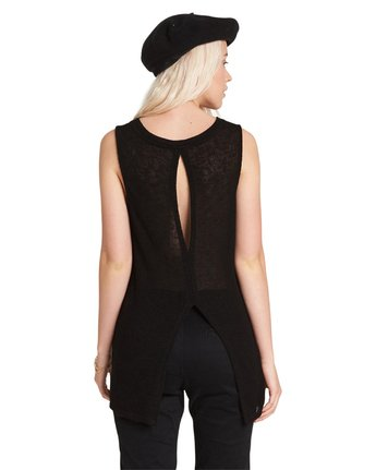 5 HEATHER TANK Black J486PEHE Element