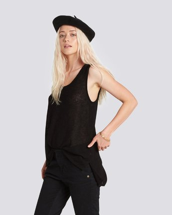 2 HEATHER TANK Black J486PEHE Element