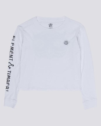 0 Timber Crop Long Sleeve T-Shirt  J488VETB Element