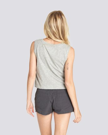 2 Happy Camp Crop Tank Grey J491UEHC Element
