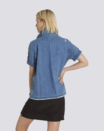 1 Horay Denim Short Sleeve Woven  J506PEHO Element