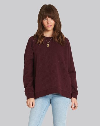 0 Daytime Sweater Red J648SEDA Element