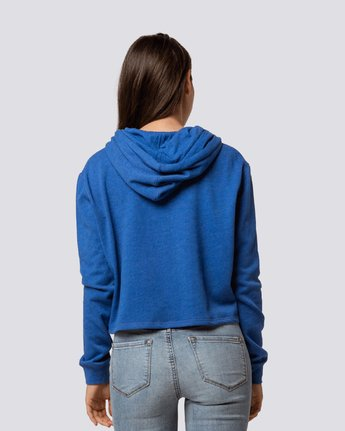 2 Lette Cropped Hoodie Blue J650QELE Element