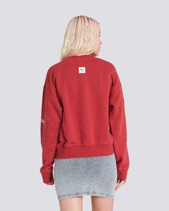 1 Season Star Crew Neck Sweatshirt Red J657SESE Element
