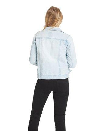 4 Carry On Denim Jacket Grey J707QECA Element