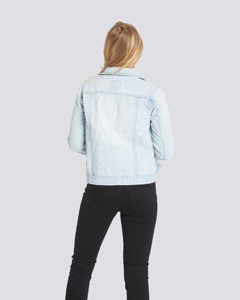 1 Carry On Denim Jacket Grey J707QECA Element