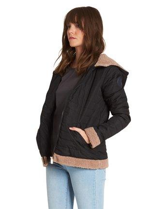 5 Sherpy Jacket Black J713SESH Element