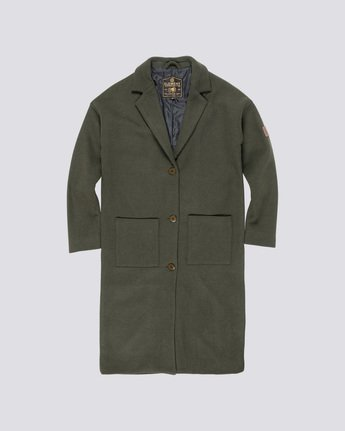 0 Bonnie Coat Jacket White J716WEBC Element