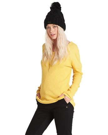 7 Minka Long Sleeve Top  J979SEMI Element