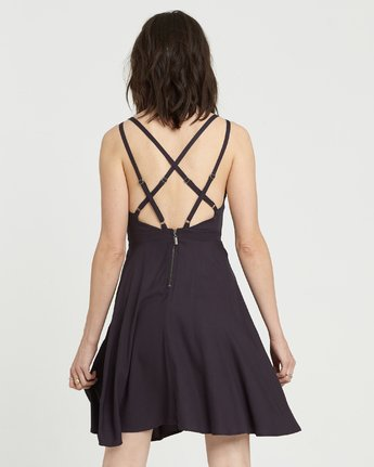 1 Heart Twill Dress Black JD331EHT Element