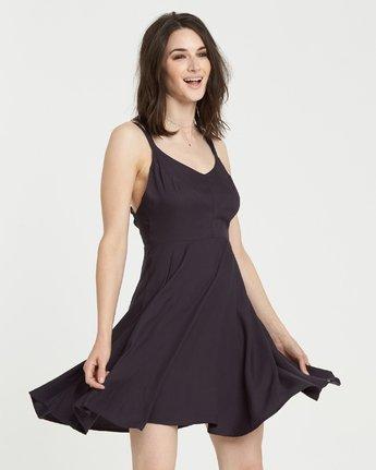 2 Heart Twill Dress Black JD331EHT Element
