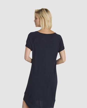 8 Lovely Tee Dress Blue JD46NELO Element