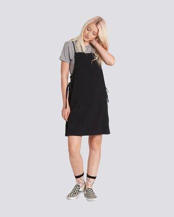 1 TYE DRESS Black JD91PETY Element
