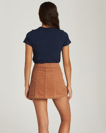 3 PENNY SKIRT Brown JK13VEPS Element