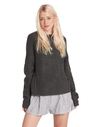 5 Comfy Sweater Grey JV26QECM Element