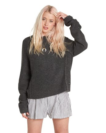 6 Comfy Sweater Grey JV26QECM Element