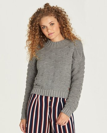 0 Elle Sweater Grey JV27TEEL Element