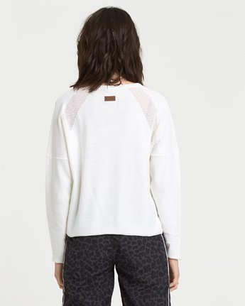 1 Rhapsody Sweater Top White JV331ERH Element