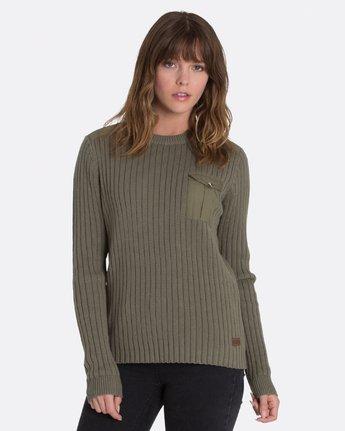 2 Colt Boyfriend Crew Sweater Green JV95MCOL Element