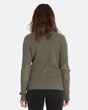 1 Colt Boyfriend Crew Sweater Green JV95MCOL Element