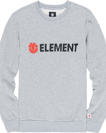 1 Blazin - Sweatshirt Gray L1CRA9ELF8 Element