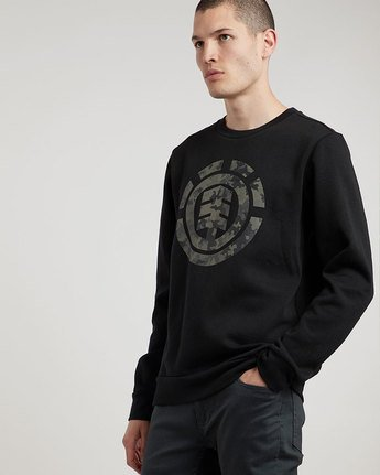 2 Bark Logo Crew - sweat pour Homme  L1CRB1ELF8 Element