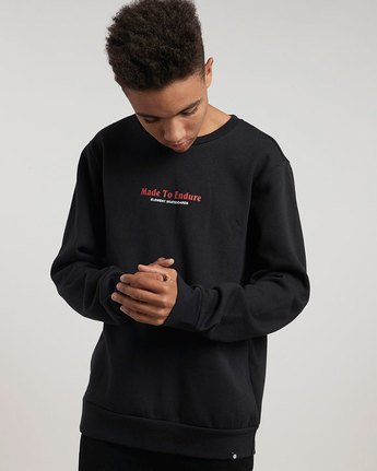 1 Made Crew - sweat pour Homme  L1CRB6ELF8 Element