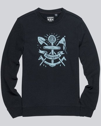 2 Pioneers Crew - sweat pour Homme  L1CRB9ELF8 Element