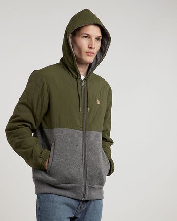 1 House Zh - Fashion Fleece for Men  L1FLA9ELF8 Element