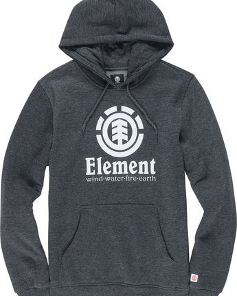 1 Vertical - Hoodie Gray L1HOB4ELF8 Element