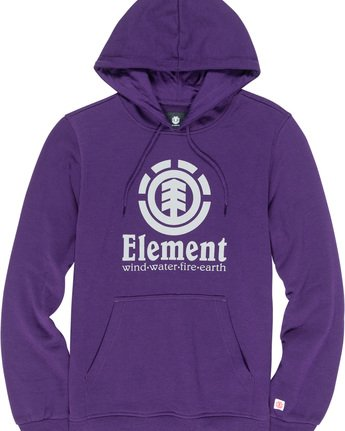 1 Vertical - Kapuzenpulli für Männer Violett L1HOB4ELF8 Element