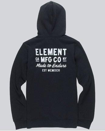 3 Sign Hood - sweat pour Homme Noir L1HOC1ELF8 Element