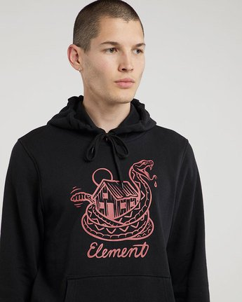 0 Rattle Hood - sweat pour Homme  L1HOC6ELF8 Element