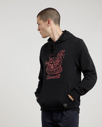 1 Rattle Hood - sweat pour Homme  L1HOC6ELF8 Element