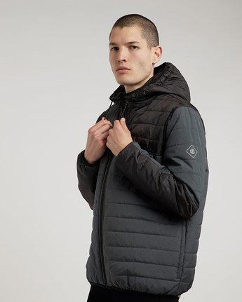 1 Alder Puff Tw - giacca da Uomo Black L1JKB2ELF8 Element