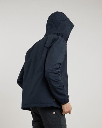 3 Alder - Hooded Jacket Blue L1JKB5ELF8 Element
