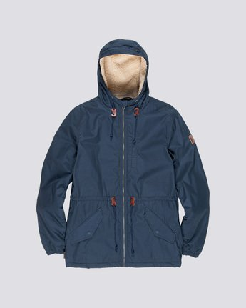 4 Stark - Jacke für Männer Blau L1JKB8ELF8 Element