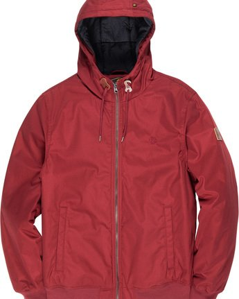 1 Dulcey - Hooded Jacket Red L1JKC2ELF8 Element