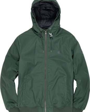 3 Dulcey - Hooded Jacket Green L1JKC2ELF8 Element